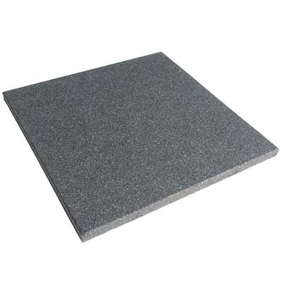Eco-Sport Coal 3/4 in. T x 19.5 in. W x 19.5 in. L Interlocking Rubber Tiles (56 sq. ft.) (20-Pack)