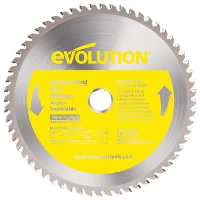 8 in. 54-Teeth Stainless-Steel Cutting Saw Blade