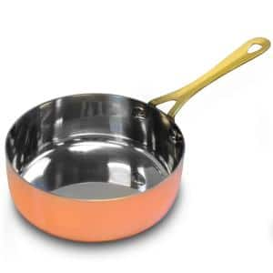 Rembrandt 4.7 in. Stainless Steel Frying Pan in Copper