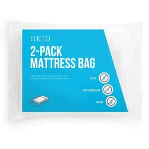 Twin XL Mattress Moving and Storage Bags (Pack of 2)