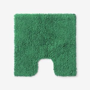 Company Cotton Chunky Loop Kelly Green 24 in. Contour Bath Rug