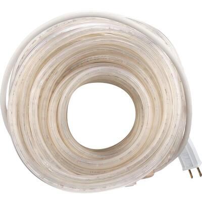 48 ft. Incandescent White Rope Light Kit