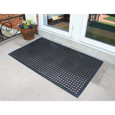 36 in. x 60 in. Rubber Commercial Floor Mat (3-Pack)