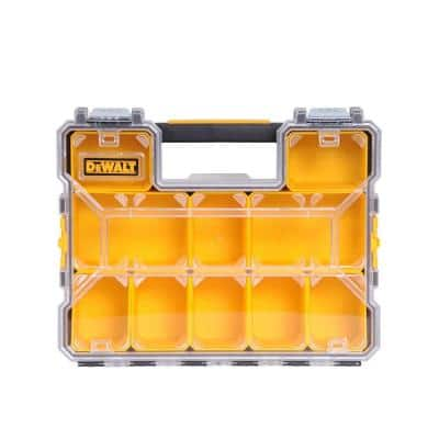 10-Compartment Deep Pro Small Parts Organizer