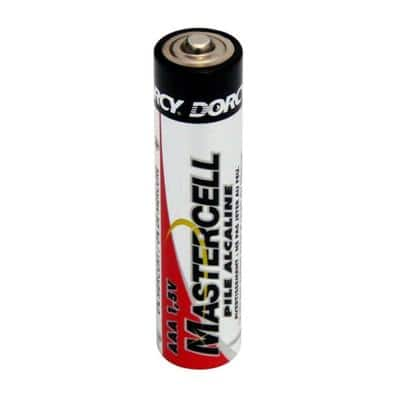 Master Cell Long-Lasting AAA-Cell Alkaline Manganese Battery (24-Pack)