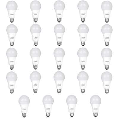 75-Watt Equivalent A19 Dimmable CEC ENERGY STAR 90+ CRI Indoor LED Light Bulb, Daylight (24-Pack)