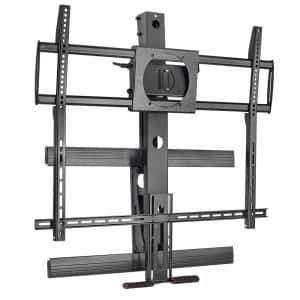 Height Adjustable Fireplace TV Mount Fits 50 in. to 100 in. Screen Size