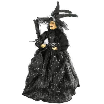 24 in. Halloween Standing Witch