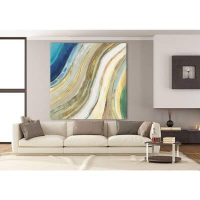 "84 in. x 84 in. ""Agate I"" by PI Studio Wall Art"