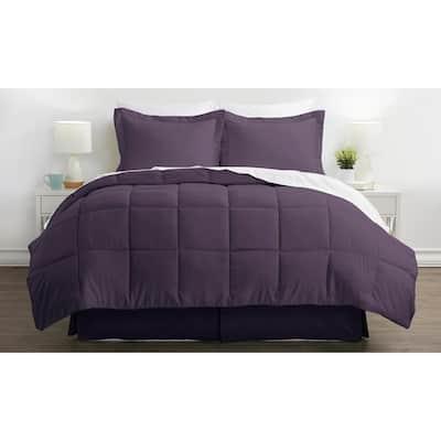 Performance 6-Piece Purple Twin Comforter Set