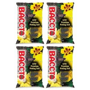 1420P Baccto Lite Premium Outdoor Potting Soil, 20 Qt. (4-Pack)