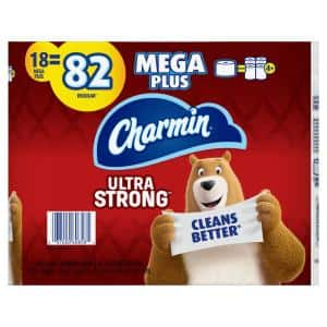 Ultra-Strong Toilet Paper (18-Mega Plus Rolls)
