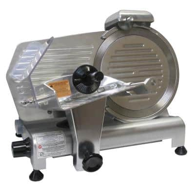 Pro-320 200 W 10 in. Silver Electric Meat Slicer
