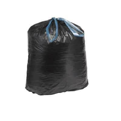 30 in. x 33 in. 30 Gal. 1.05 mil Black Ultra Flex Trash Bags (150/Carton)