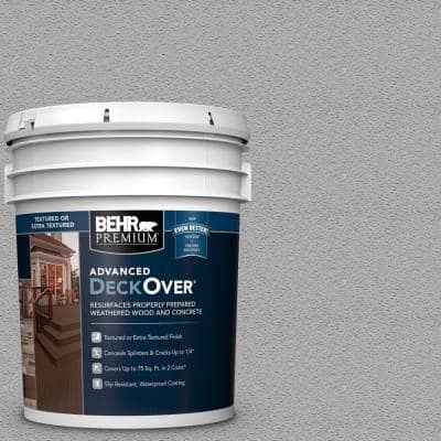 5 gal. #SC-149 Light Lead Textured Solid Color Exterior Wood and Concrete Coating