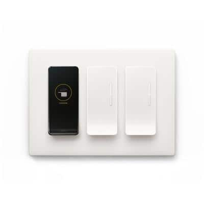 Smart Lighting Kit with 1 Room Director 2 Extension Switches and Wall Plates