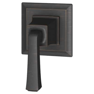 Town Square S 1-Handle Wall Mount Shower Diverter Valve Trim in Legacy Bronze (Valve Not Included)