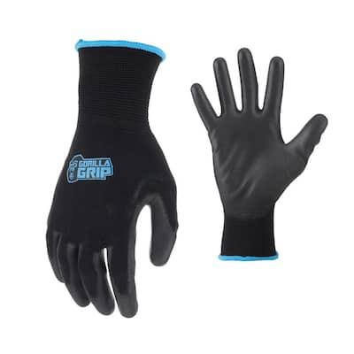 Large Maximum Grip Work Gloves (4-Pair)