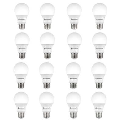 100-Watt Equivalent A19 Non-Dimmable LED Light Bulb Soft White (16-Pack)