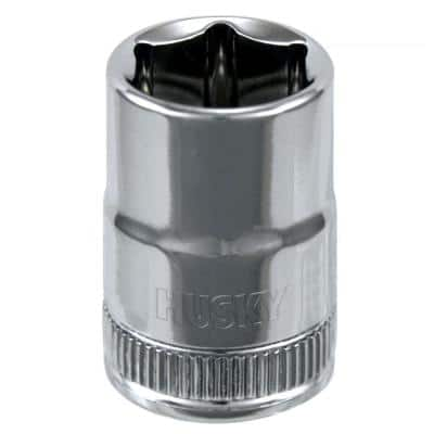3/8 in. Drive 13 mm 6-Point Metric Standard Socket