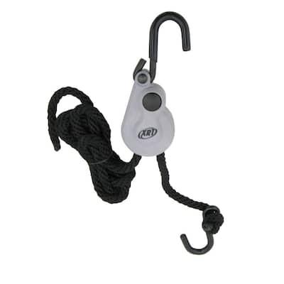 3/8 in. x 8 ft. XRT Rope Lock Push Button Release 500 lb. Break Strength