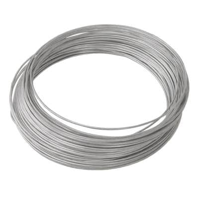 100 ft. 75 lb. 14-Gauge Galvanized Steel Wire