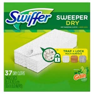Sweeper Dry Cloth Refills with Original Gain Scent (37-Count)