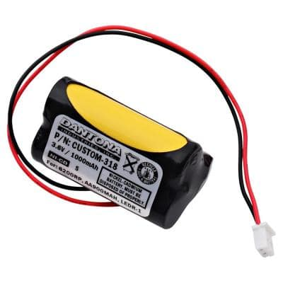 Dantona 3.6-Volt 1000 mAh Ni-Cd battery for Unitech - 6200RP