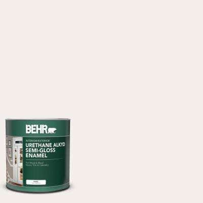 1 qt. #ECC-16-2 Bright Moon Semi-Gloss Enamel Urethane Alkyd Interior/Exterior Paint