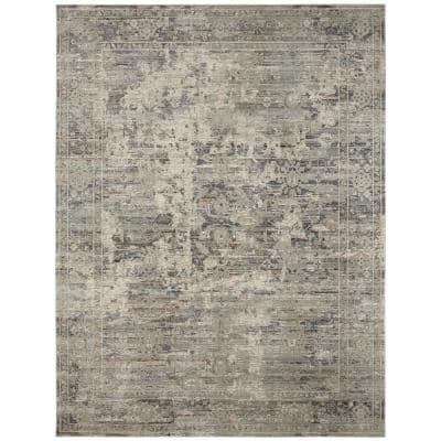 Camilla Graphite Greys 8 ft. 9 in. x 11 ft. 10 in. Area Rug