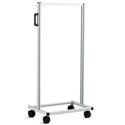 23.7 in. W x 46 in. H Stackable Double Stand Frame Tilt Bins Organizer for Everything from DIY to Crafts to Tool Storage