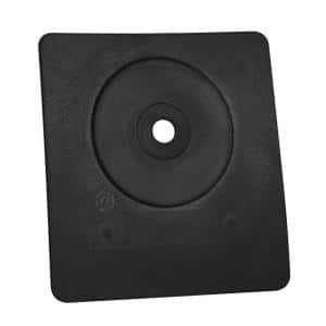 Sideflash 8-1/2 in. x 8 in. Vertical Vent Pipe Roof Flashing with 1/2 in. - 2-1/2 in. Adjustable Diameter