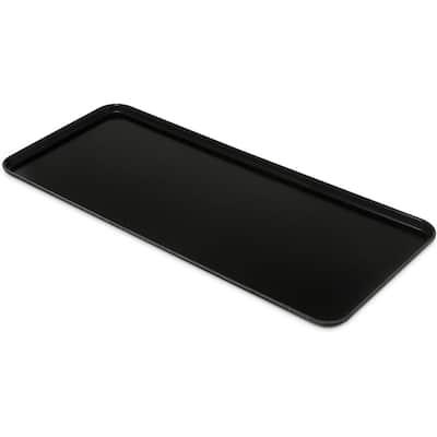 30 in. x 1.05 x 12.44 Ebony Fiberglass Market Tray (12-Pack)