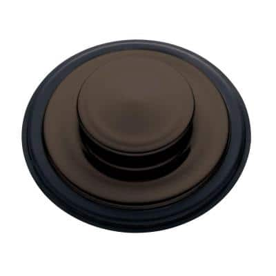 Sink Stopper in Oil Rubbed Bronze for InSinkErator Garbage Disposals