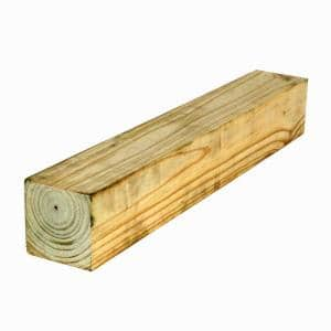 4 in. x 4 in. x 12 ft. #2 Pressure-Treated Timber