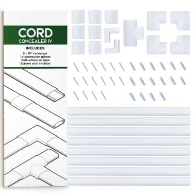 Sliding Cable and Cord Management Kit