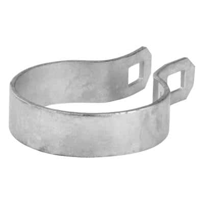 2-3/8 in. Galvanized Metal Brace Band Chain Link