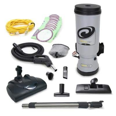 Proteam MEGAVAC 10 Qt. Commercial Backpack Vacuum with Wessel Werk Head