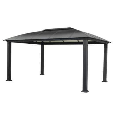 Paragon 12 ft. x 16 ft. Aluminum Hard Top Gazebo