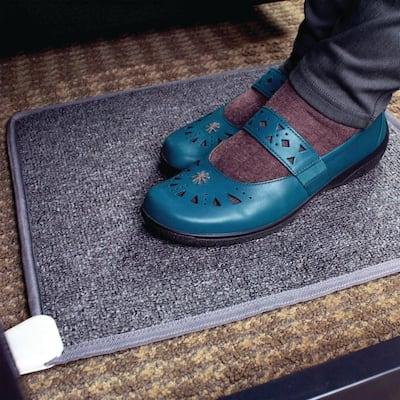 250 BTU Cozy Toes Carpeted Foot Warmer Space Heater Under Desk Office Heater Bathroom Heater