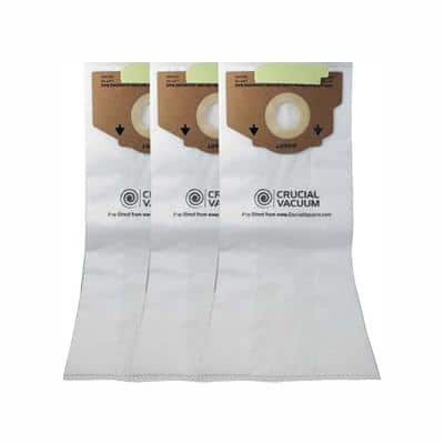 3-Pack Replacement Style RR Cloth Bags, Fits Eureka, Compatible with Part 61115