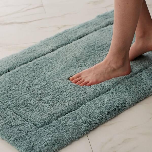 Cotton Bath Rug Vk75 30x50 White, 30 X 50 Bathroom Rugs