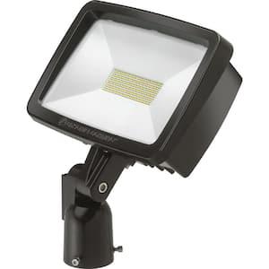 Contractor Select TFX2 94-Watt Dark Bronze Slipfitter Mount Outdoor Integrated LED Flood Light