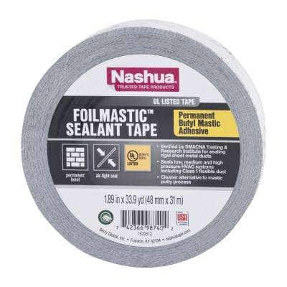 1.89 in. x 33.9 yd. Foilmastic Sealant Tape