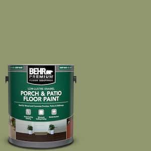 1 gal. #410F-5 Boston Fern Low-Lustre Enamel Interior/Exterior Porch and Patio Floor Paint