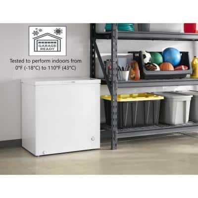 7 cu. ft. Defrost Chest Freezer in White