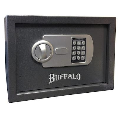 0.57 cu. ft. Steel Portable Handgun Safe with Electronic Lock