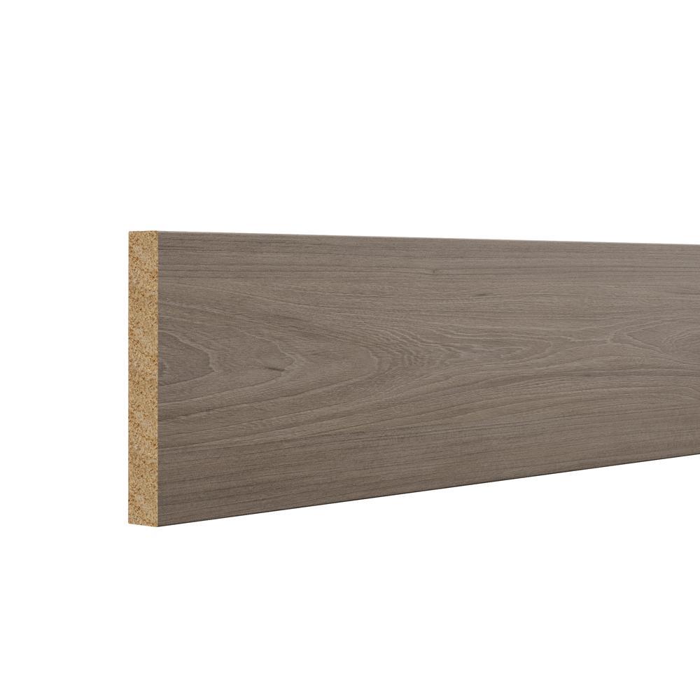 Designer Series 96x4.25x0.625 in. Toe Kick in Driftwood