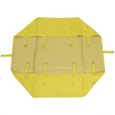 Yellow Heavy-Duty Vinyl Utility Garden Cart Liner