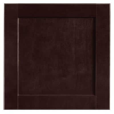Shaker 14.5 x 14.5 in. Cabinet Door Sample in Java